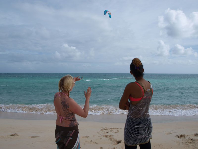 kite surfing barbuda