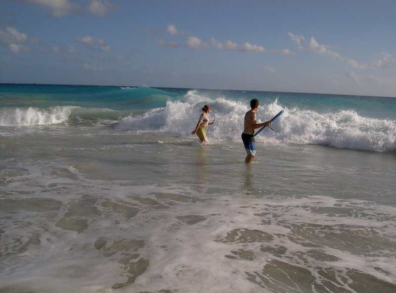 surfing barbuda