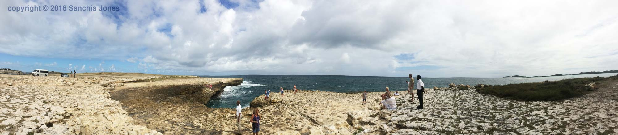 Panoramic of Devils Bridge