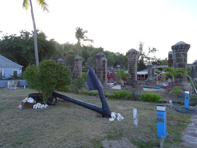 Nelsons Dockyard Anchor