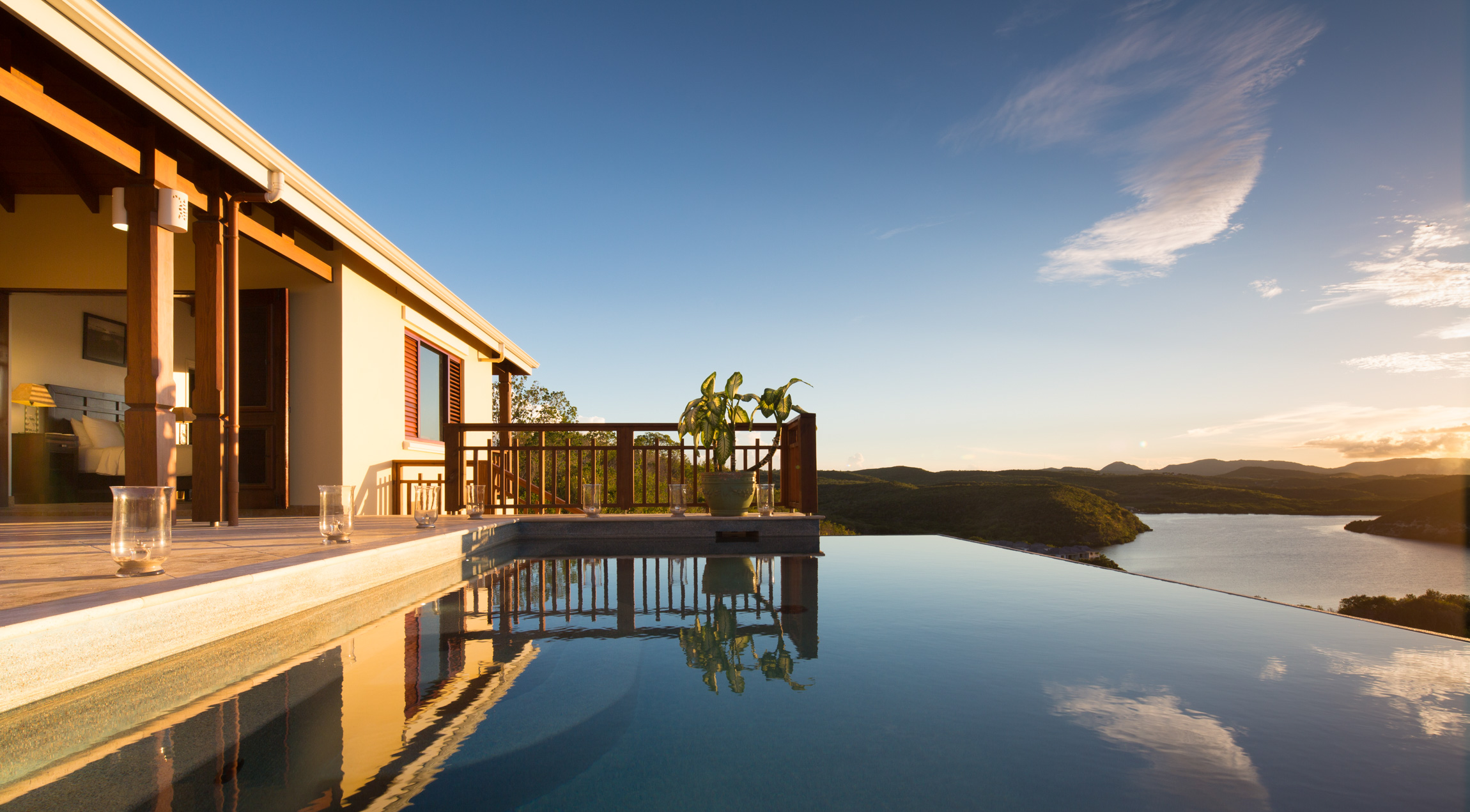 Nonsuch Heights villa antigua infinity pool